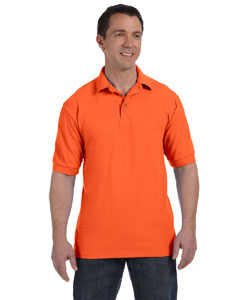 Custom Hanes Mens 7 Oz. Comfortsoft® Cotton Pique Polo