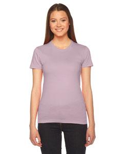 Custom American Apparel Ladies Fine Jersey Short-sleeve T-shirt