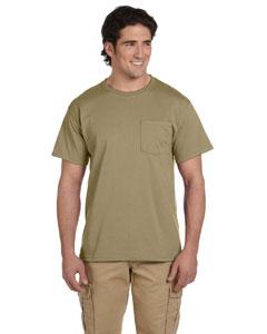 Jerzees 5.6 oz., 50/50 Heavyweight Blend™ Pocket T-Shirt