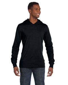 Custom Bella Unisex Jersey Long-sleeve Hoodie
