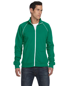 Custom Bella Mens Piped Fleece Jacket