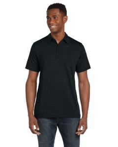 Custom Bella Mens Jersey Short-sleeve Five-button Polo