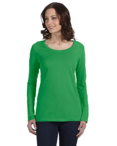Custom Anvil Ladies Ringspun Sheer Long-sleeve Featherweight T-shirt