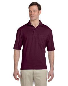 Custom Jerzees 5.6 Oz., 50/50 Jersey Pocket Polo With Spotshield™