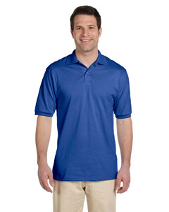 Custom Jerzees Mens 5.6 Oz., 50/50 Jersey Polo With Spotshield™