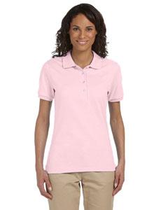 Custom Jerzees Ladies 5.6 Oz., 50/50 Jersey Polo With Spotshield™