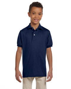 Custom Jerzees Youth 5.6 Oz., 50/50 Jersey Polo With Spotshield™