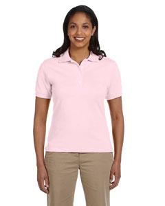 Custom Jerzees Ladies 6.5 Oz. Ringspun Cotton Pique Polo