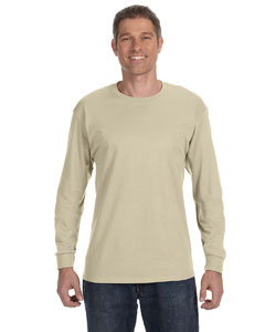 Custom Hanes 6.1 Oz. Tagless® Comfortsoft® Long-sleeve T-shirt