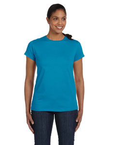 Custom Hanes Ladies 5.2 Oz. Comfortsoft® Cotton T-shirt