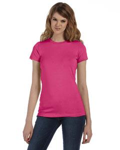 Custom Bella Ladies Made In The Usa Favorite T-shirt