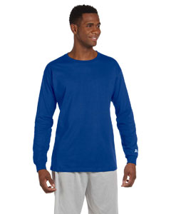 Custom Russell Athletic Cotton Long-sleeve T-shirt