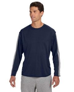 Custom Russell Athletic Long-sleeve Performance T-shirt