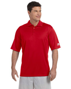 Custom Russell Athletic Mens Team Essential Polo