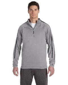 Custom Russell Athletic Tech Fleece Quarter-zip Cadet