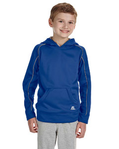 Custom Russell Athletic Youth Tech Fleece Pullover Hood