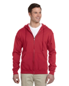 Custom Jerzees 8 Oz., 50/50 Nublend® Fleece Full-zip Hood