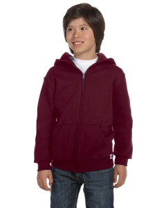 Custom Russell Athletic Youth Dri-power® Fleece Full-zip Hood