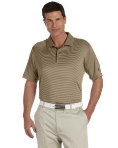Custom Adidas Golf Mens Climalite® Classic Stripe Short-sleeve Polo