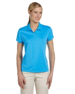 Custom Adidas Golf Ladies Climalite® Short-sleeve Pique Polo