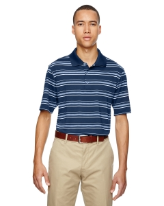 Custom Adidas Golf Puremotion® Textured Stripe Polo