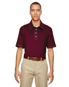 Custom Adidas Golf Mens Puremotion® Piped Polo