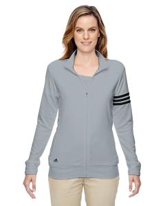 Custom Adidas Golf Ladies Climalite® 3-stripes Full-zip Jacket
