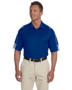 Custom Adidas Golf Mens Climalite® 3-stripes Cuff Polo