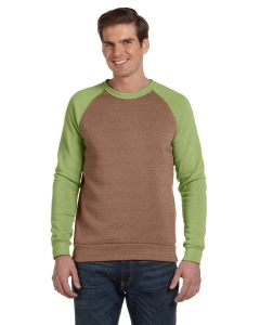 Custom Alternative Mens Champ Colorblocked Fleece Crew