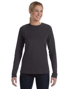 Custom Bella Missys Jersey Long-sleeve T-shirt