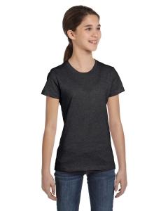 Custom Bella Girls Jersey Short-sleeve T-shirt