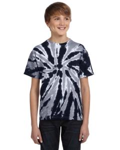 Custom Tie-dye Youth 5.4 Oz., 100% Cotton Twist Tie-dyed T-shirt