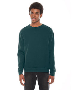 Custom American Apparel Unisex Flex Fleece Drop Shoulder Pullover Crewn