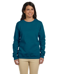 Custom Gildan Heavy Blend™ Ladies 8 Oz., 50/50 Fleece Crew