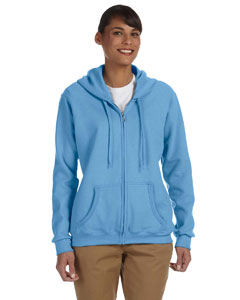 Custom Gildan Heavy Blend™ Ladies 8 Oz., 50/50 Full-zip Hood