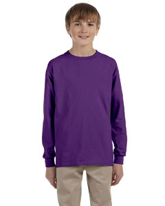 Custom Gildan Ultra Cotton® Youth 6 Oz. Long-sleeve T-shirt