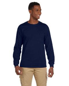 Custom Gildan Ultra Cotton® 6 Oz. Long-sleeve Pocket T-shirt