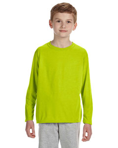 Custom Gildan Performance™ Youth 4.5 Oz. Long-sleeve T-shirt
