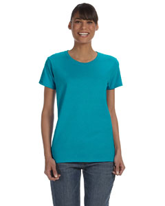 Custom Gildan Heavy Cotton™ Ladies 5.3 Oz. Missy Fit T-shirt