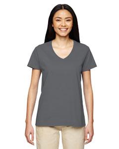 Custom Gildan Heavy Cotton™ Ladies 5.3 Oz. V-neck T-shirt