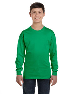 Custom Gildan Heavy Cotton™ Youth 5.3 Oz. Long-sleeve T-shirt