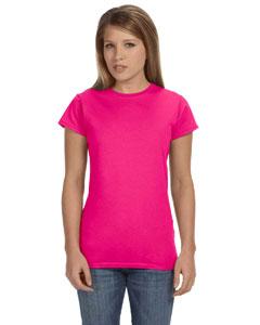 Custom Gildan Softstyle® Ladies 4.5 Oz. Junior Fit T-shirt
