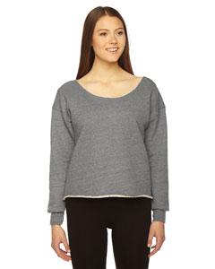 Custom American Apparel Ladies Athletic Crop Sweatshirt