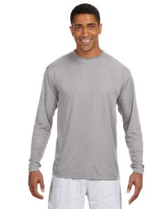 Custom A4 Long-sleeve Cooling Performance Crew Neck T-shirt
