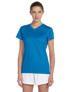 Custom New Balance Ladies Ndurance® Athletic V-neck T-shirt