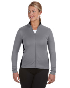 Custom Champion Performance Ladies 5.4 Oz. Colorblock Full-zip Jacket