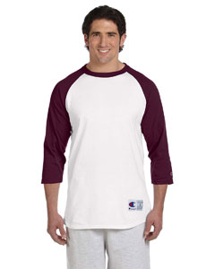 Custom Champion 5.2 Oz. Raglan Baseball T-shirt