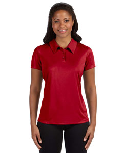 Custom Alo Sport Ladies Performance Three-button Polo