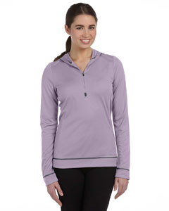Custom Alo Sport Ladies Half-zip Long-sleeve Hoodie