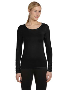 Custom Alo Sport Ladies Bamboo Long-sleeve T-shirt